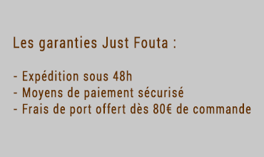 Les garanties Just Fouta